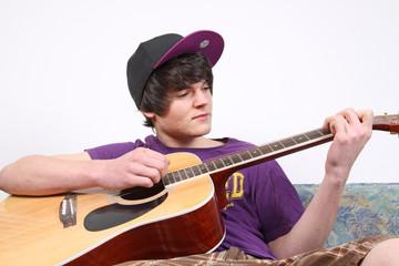 Gitarre üben