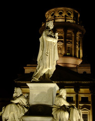 Gendarmenmarkt square by night in Berlin
