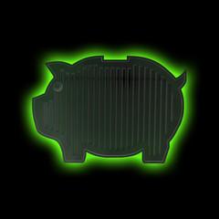 Heizung auch Nachts als Sparschwein für Umwelt