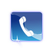Picto telephone appel - Icon call phone