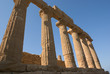 Doric Columns In Agrigento