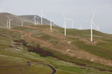 wind farm to harness the wind for renewable energy poster