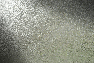 Condensation on glass background