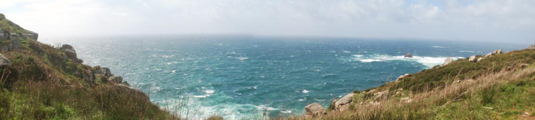 panorámica costa gallega