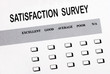 Fill in the customer satisfaction survey