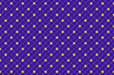 Pattern from rhombuses poster