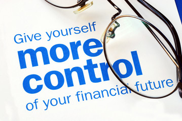 Focus on and take control of your financial future