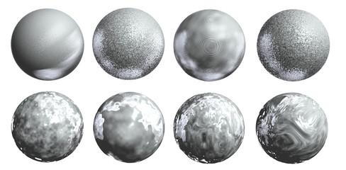 Silber Kugeln