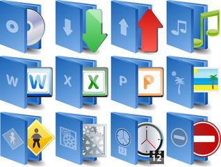 Computer icons Document icon set
