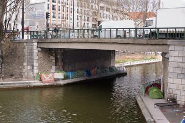 Stowaways Paris Canal Saint Martin