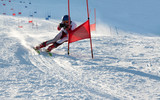 Fototapete Skyx - Schnee - Beim Sport