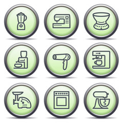 Icons with green buttons 19