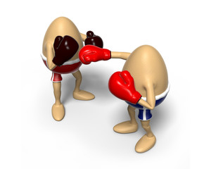 Eggs boxing