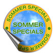 Web 2.0 Button - Sommer-Specials Aufkleber (03)