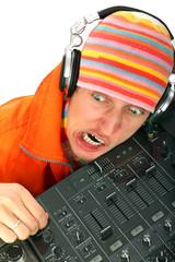 man portrait DJ