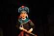 china opera actor with hat