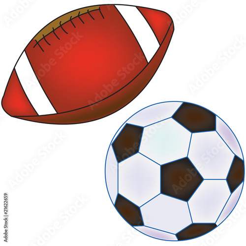 Set of ball