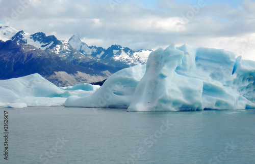 Foto op Plexiglas Antarctica 2 iceberg -Patagonia