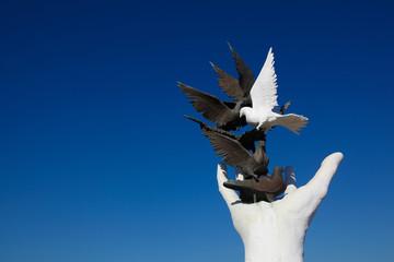 Kusadasi Peace monument