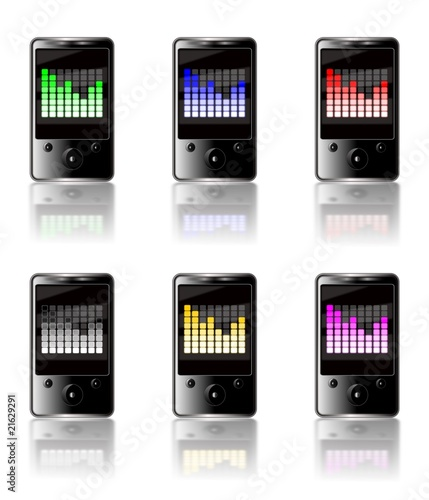 MP3 graphic equalizer
