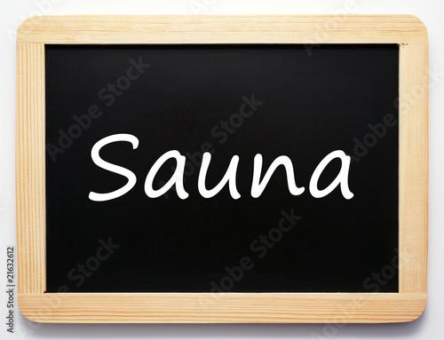 fototapete sauna schild concept sign. Black Bedroom Furniture Sets. Home Design Ideas