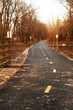 Bicycle Trail at Dusk