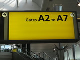Airport Gates A2 to A7