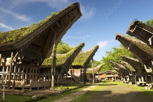 Papiers peints Indonésie Kete Kesu, Toraja Dorf, Rantepao, Sulawesi/Indonesien