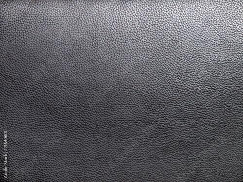 Aluminium Leder schwarzes Leder