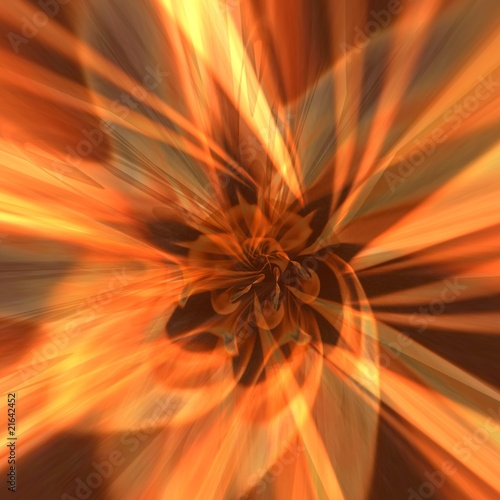 abstract fire - 21642452