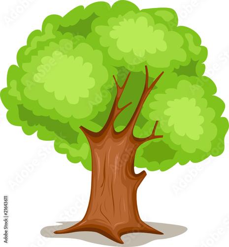 Fotobehang Bosdieren tree