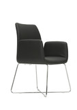 minimal black chair poster