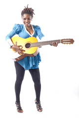 guitariste africaine