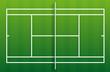 Terrain de tennis - gazon