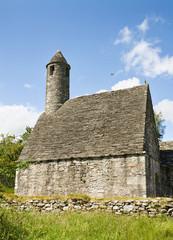 Saint Kevin's Church at Glendalough