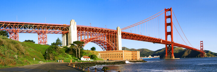 Golden Gate panoramic view
