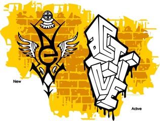 Graffiti -Active end  New..