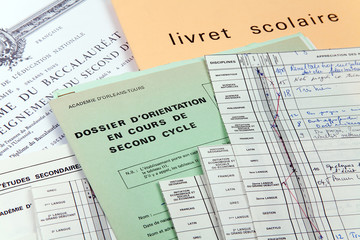 Dossier scolaire orientation