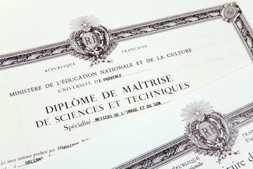 Etudes - diplômes