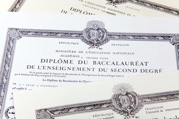 Etudes - diplômes - Baccalauréat