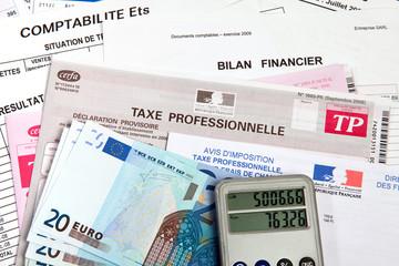 Impôts - Taxe professionnelle