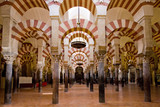 Fototapety interior of Mosque-Cathedral, Cordoba, Andalusia, Spain