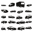 Collection de silhouettes de voitures - Cars shadows