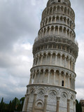 Leaning Tower of Pisa - one of icons of refined architecture poster