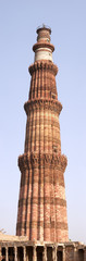 Qutb Minar minaret panorama, Delhi, India