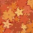 roleta: Fiore di Tiaré Sfondo-Vector