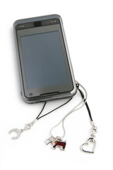 mobile phone with original pendants