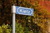 Straßenschild Kietz - 21685846