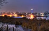 Blaue Stunde im Winter - Hamburg Außenalster - 21686250