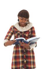 Student read